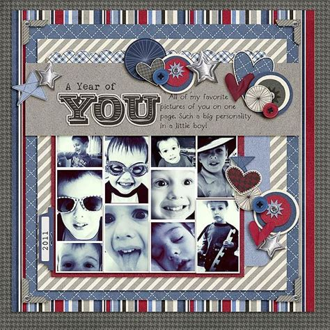 Multi Photo Scrapbook Layouts by 17 Best Images About Scrapbook Layouts On