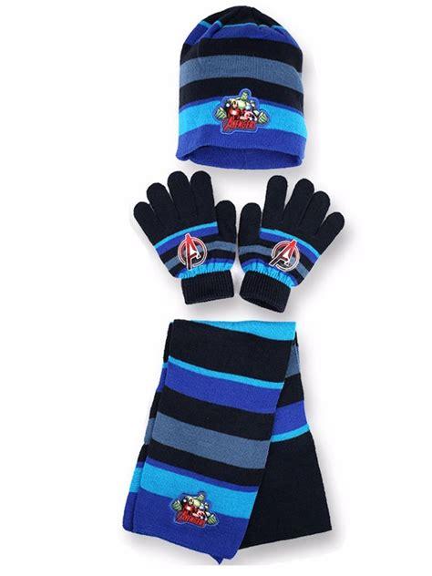 Winter Hat Set boys marvel winter hat gloves and scarf set