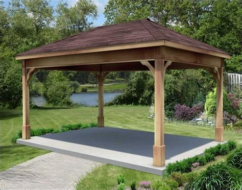 gazebo costo cedar wood gazebo with metal roof at costco motorcycle