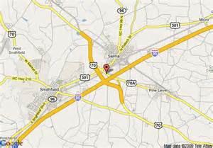 smithfield carolina map map of masters inn smithfield selma