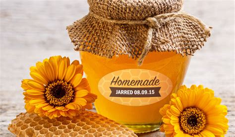 How To Make Removable Wall Stickers custom honey labels and jar labels stickeryou products