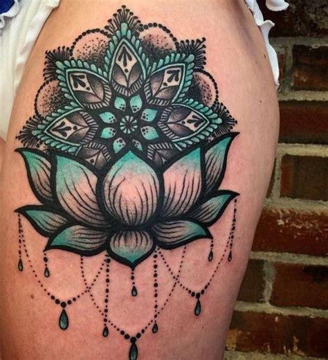 lotus tattoo number tattoo trends blue and black lotus sleeve tattoo design