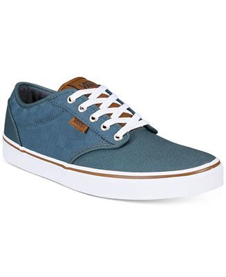 macys mens sneakers vans s atwood check canvas sneakers all s shoes