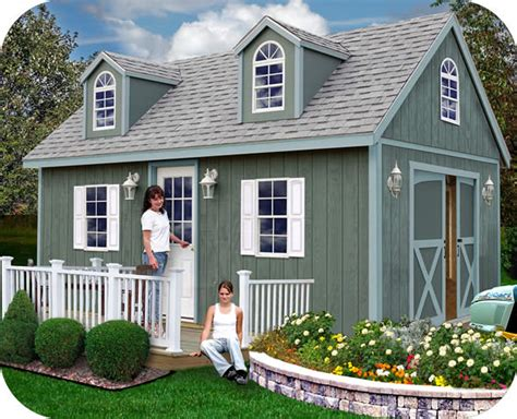 barns arlington  wood storage shed kit