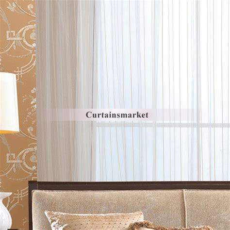 sheer curtains with pattern bedroom and living room beige sheer curtains with striped