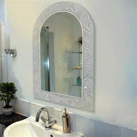 arched bathroom mirrors spring arch bathroom mirror bathroom mirrors pinterest
