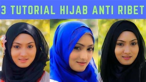 tutorial hijab simple untuk sehari hari 3 tutorial hijab anti ribet simple untuk sehari hari