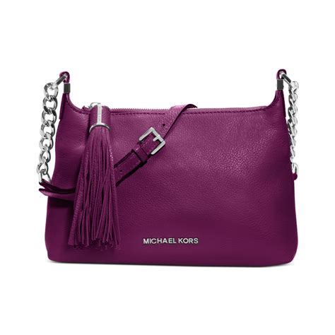 Messenger Bag Pomegranate michael kors weston small messenger bag in purple