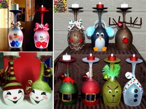 weinglas als kerzenhalter bastelarbeiten weihnachtskerzen and wein trinken on