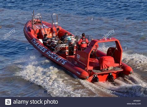 thames river rocket speedboat thames stock photos speedboat thames stock