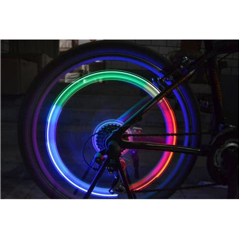 Lu Sepeda Raypal 5 Leds Light For Bicycle colorful lights gas nozzle valve mountain bike