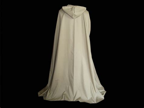 Handmade Cloaks - hooded cloak cape handmade cotton by mwestdesigns