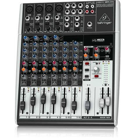 Mixer Ax 12 Usb12 Channel behringer xenyx 1204usb 12 channel usb mixer ebay