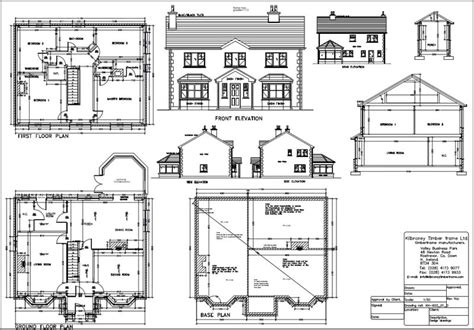Complete House Plan by Timberframe Homes In Ireland And Uk Kilbroney
