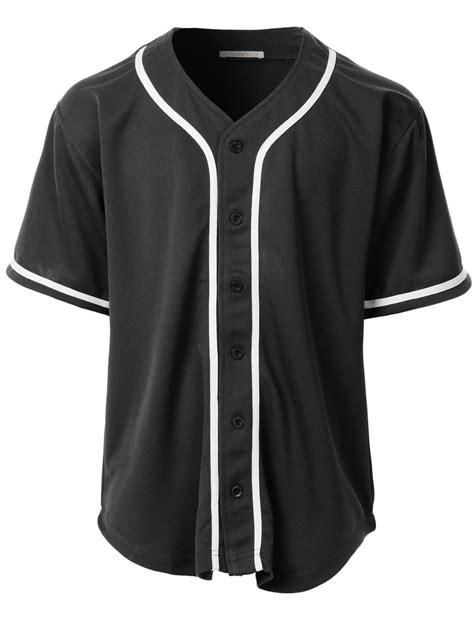 jersey baseball hellprint premium le3no premium mens button mesh sleeve