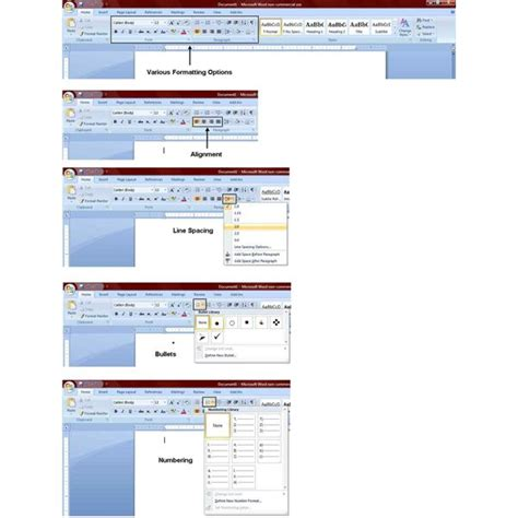 layout options word 2007 how to find commonly used commands in microsoft word 2007