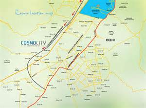 location map era cosmo city phase i sector 103 gurgaon