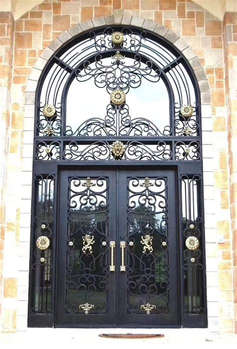 wrought iron single gate designs wrought iron front door
