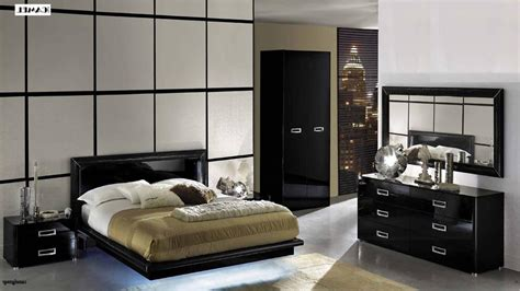 Black Lacquer Bedroom Set | la star high gloss black lacquer bedroom set bedroom sets