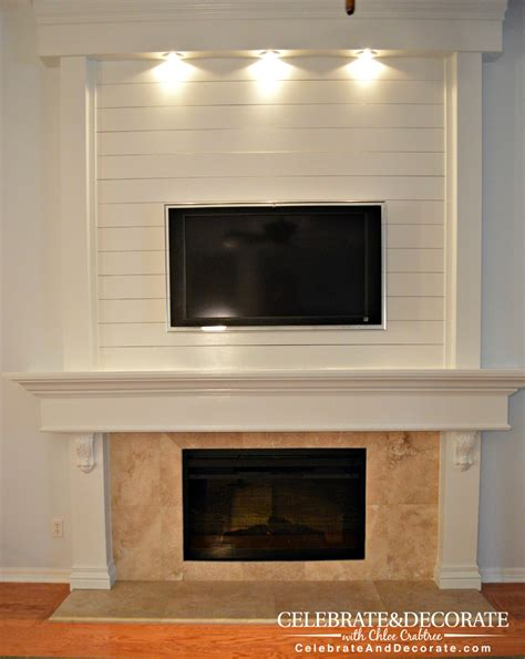 how to a fireplace shiplap fireplace