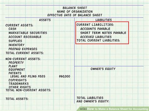 balance sheet account section expert advice on how to make a balance sheet for accounting