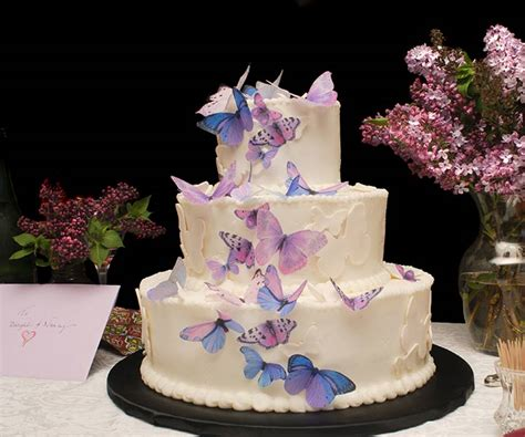Edible Arrangement 9 Romantic Butterfly Wedding Cakes That Will Give You