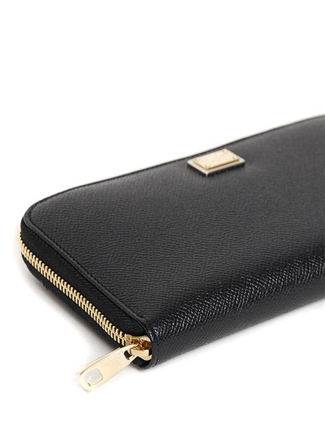 Dolce And Gabbana Zip Purse by Zip Around Leather Wallet By Dolce Gabbana Wallets