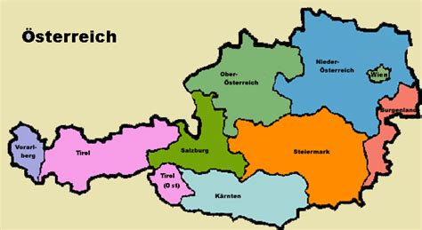 austria on the world map austria maps