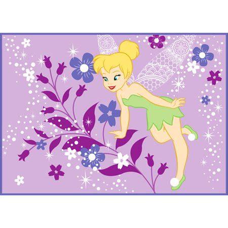 tinkerbell teppich disney tinkerbell rug walmart