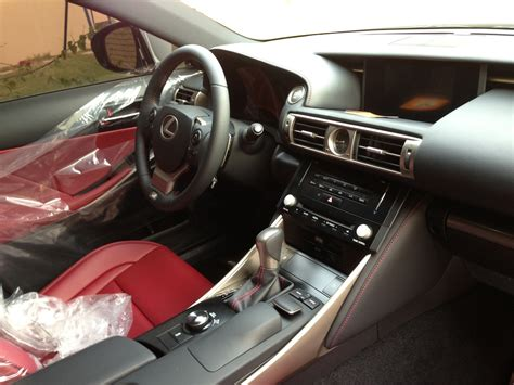 white lexus red interior time for lexus again is350 f sport color choice club