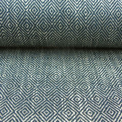 For Upholstery by Upholstery Fabric Mora Indigo Blue