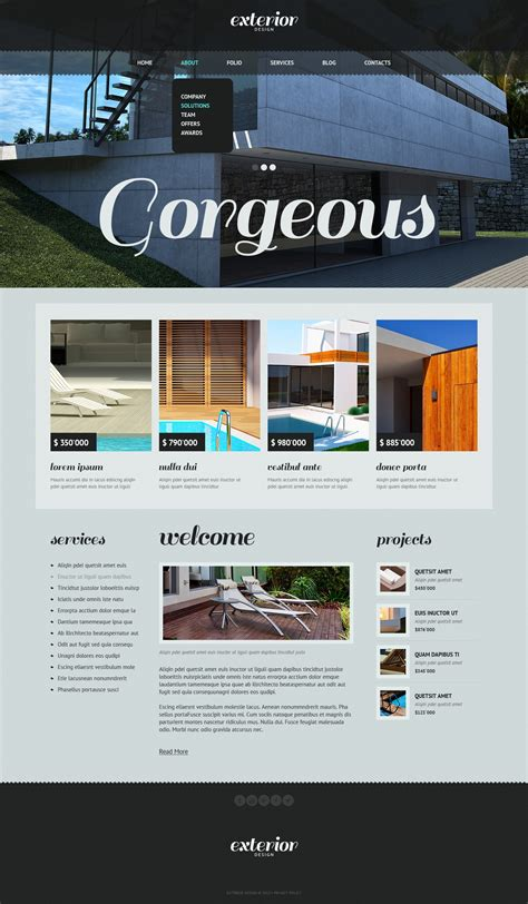 joomla template design software exterior design joomla template 42818