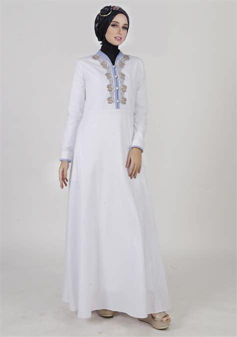 Model Baju Gamis Terbaru Lebaran model gamis lebaran terbaru 2018 baju muslim modern