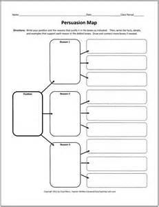 Argumentative Essay Graphic Organizer by Graphic Organizers Persuasive Essay School