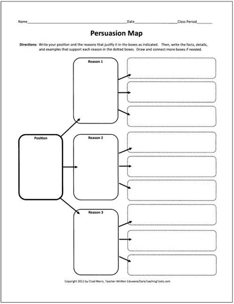 How To Make A Graphic Organizer On Paper - 12 best images about debate on technology in