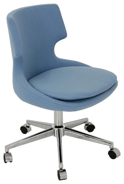 Modern Desk Chair Patara Office Chair Modern Office Chairs New York By Zin Home