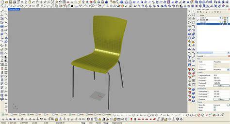 sedia cad essepi compensati progettazione e prototipazione