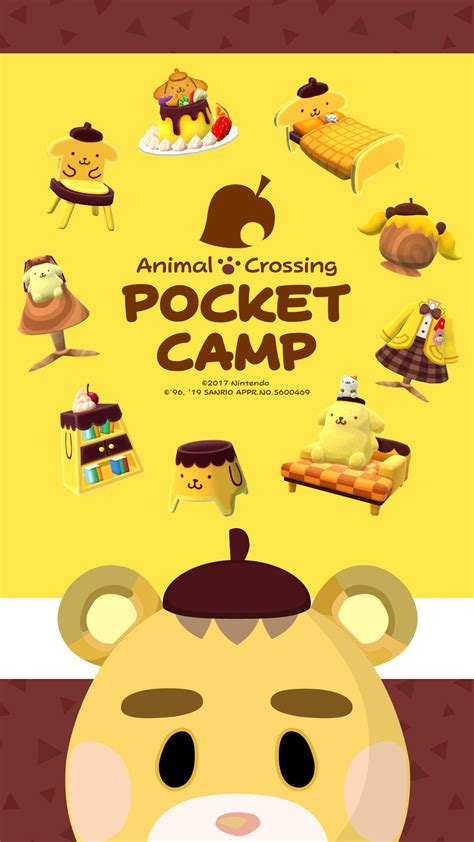 wallpapers official set  animal crossing sanrio