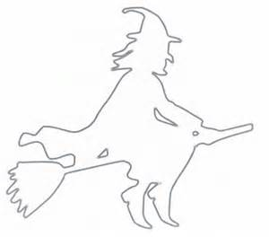 witch silhouette template ansley designs diy witch silhouettes