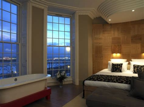 hotels with baths in bedrooms a great view with a room at brighton s drakes hotel