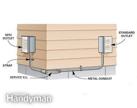 how to add an outdoor outlet outdoor outlet outlets and