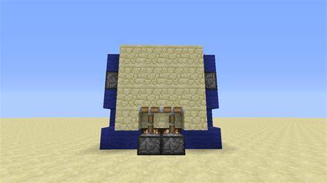 Piston Door Minecraft by Minecraft 2x2 Flush Piston Door Tutorial