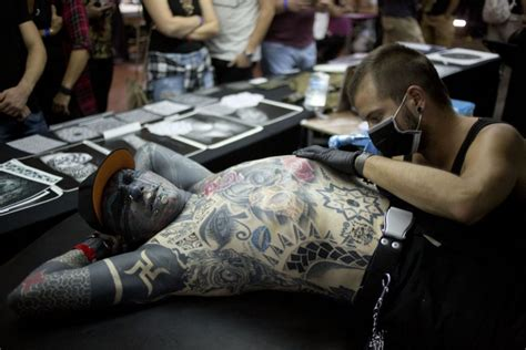 tattoo convention germany scenes from the third annual israel tattoo convention