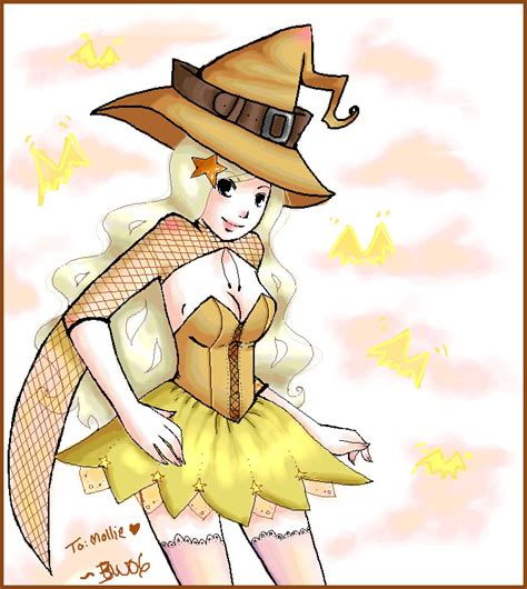 yellow witch yellow witch for mollie by puffypanda on deviantart