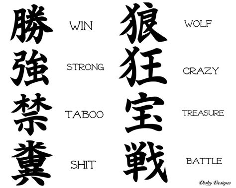 tattoo designs japanese kanji translation kanji tattoos and designs page 41
