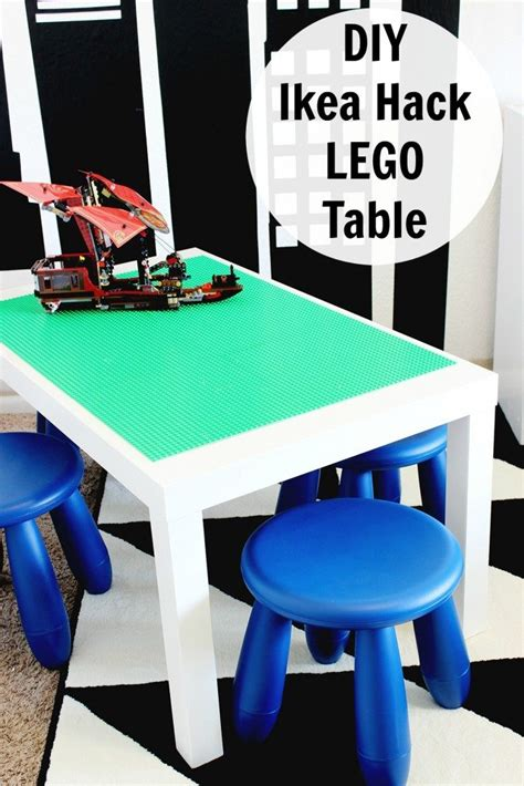 easy diy lego table easy diy lego table clutter