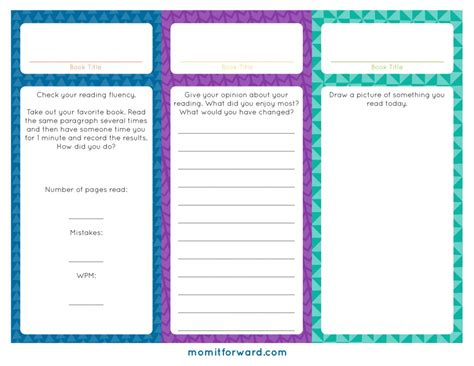 printable reward bookmarks reading log bookmark printables mom it forward