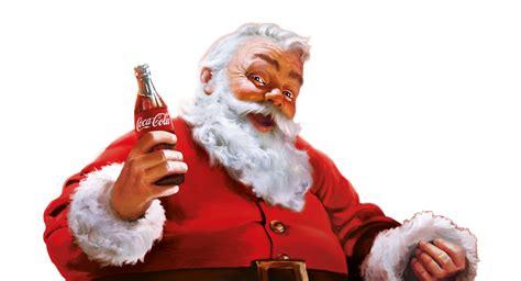 imagenes santa claus coca cola hilf santa mach anderen eine freude santa claus geht