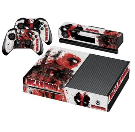 Ds4 Skin Deadpool By Stiker Onlen deadpool skin for your xbox one controller console