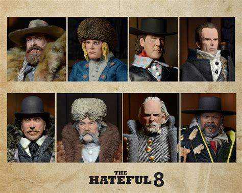 hateful 8 figures the hateful eight clothed figures necaonline